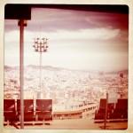 Barcelona, gesehen von pia