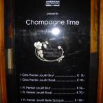 Champagner in der Loos-Bar