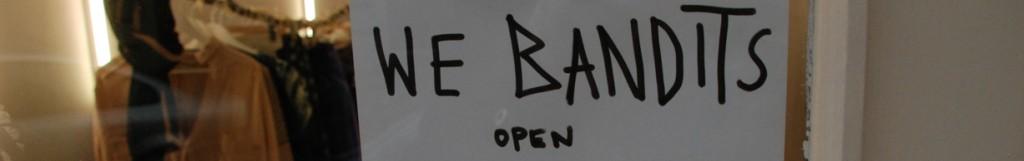 We Bandits, der permanent pop up store in der Theobaldgasse