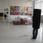 "Erwin Wurm ""blickt"" auf Andy Warhol im Contemporary Art Loft"