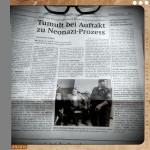 die Wiener Zeitung berichtete am 22.5.2012 über Küssel et al., angeklagt wegen Wiederbetätigung.