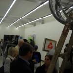 die Galerie ViertelNeun in der Hahngasse 14 am Eröffnungsabend