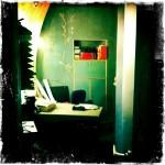 original Wandmalerei im Büro