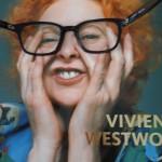 """verfremdetes Cover von """"Vivienne Westwood"""", Claire Wilcox, 2004, V&A Publications, London"""