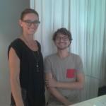 das liebenswürdige Optiker-Team von MYKITA Wien