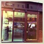 das Portal von MYKITA am Neuen Markt
