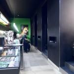 ein Blick vom Filmmuseum in die Filmbar