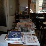 die Zeitungen und Zeitschriften