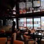 die Lounge im 1. Stock