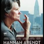 Hannah Arendt, das Filmplakat