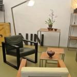 Einblick in das neue Möbelstudio