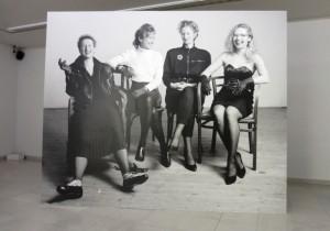 Die Damen, Einblick in die Ausstellung