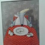 Carola Holland: Petersilie, Suppenkraut. Aus dem Buch: Das große Annette Betz Kinderliederbuch. Annette Betz Verlag. Technik: Buntstift, Deckfarbe