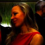 """Nina Proll beim Interview für die Seitenblicke. Sophie Stockinger sagt über die Arbeit mit ihr: """"Sie ist sehr nett und bodenständig. Ich habe mir von ihr viel abschauen können."""""""