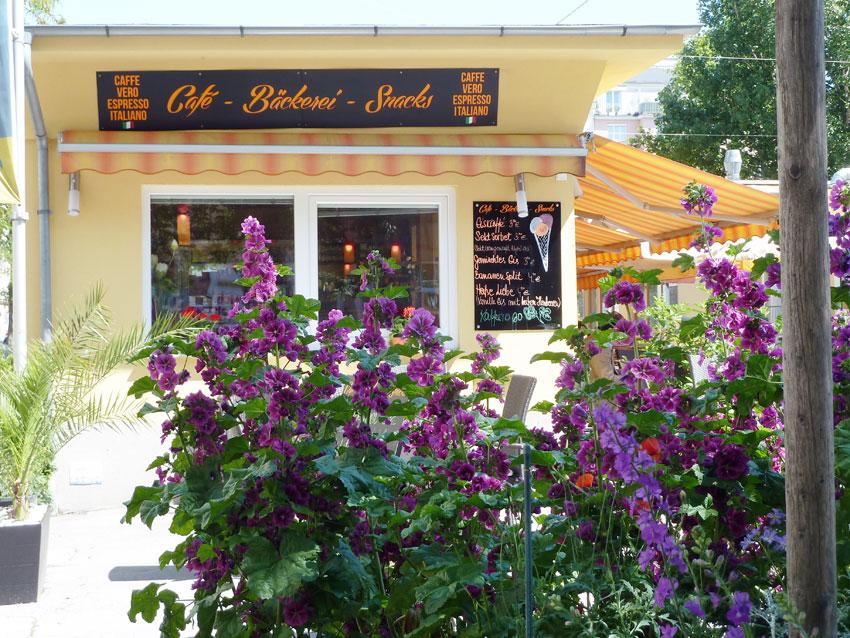 der Cafe-Bäckerei-Stand von Finka