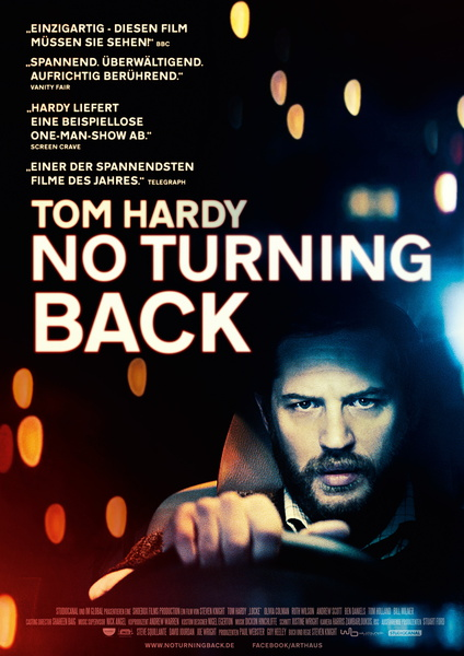 Locke. No Turning Back. Filmplakat