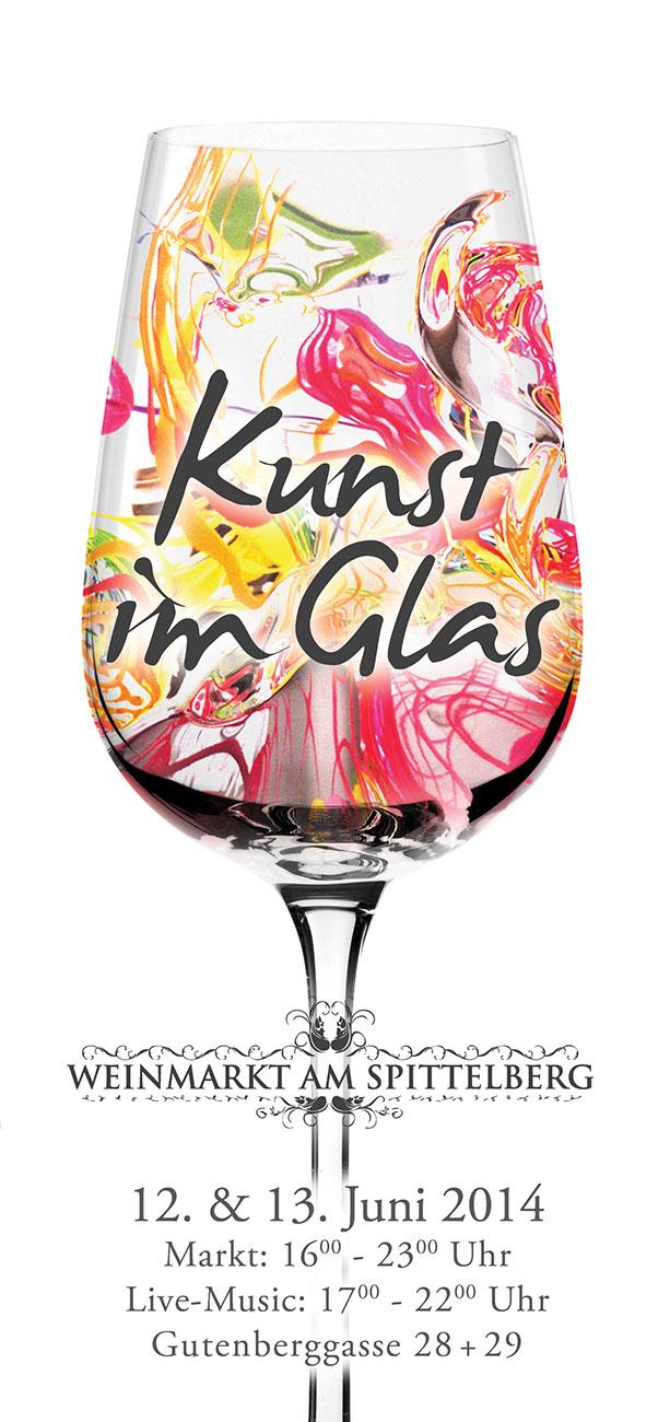 Kunst im Glas: 12. und 13. Juni am Spittelberg