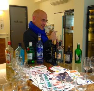 Ginverkostung bei Del Fabro