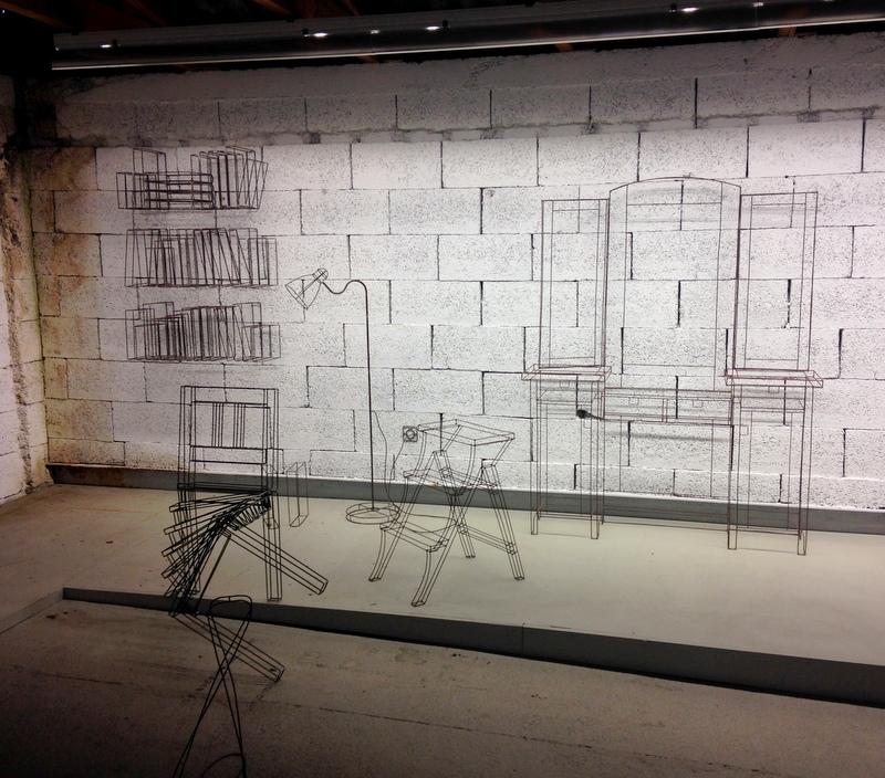 im Atelier von Markus Moser