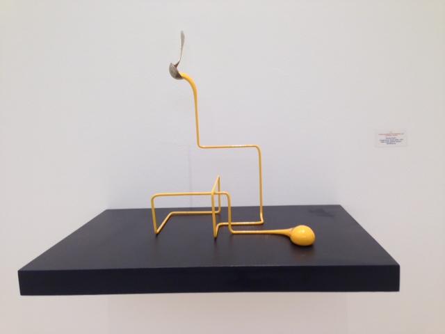 """""""Geometrische Suppe"""", (gelb), 2015, Markus Hofer"""