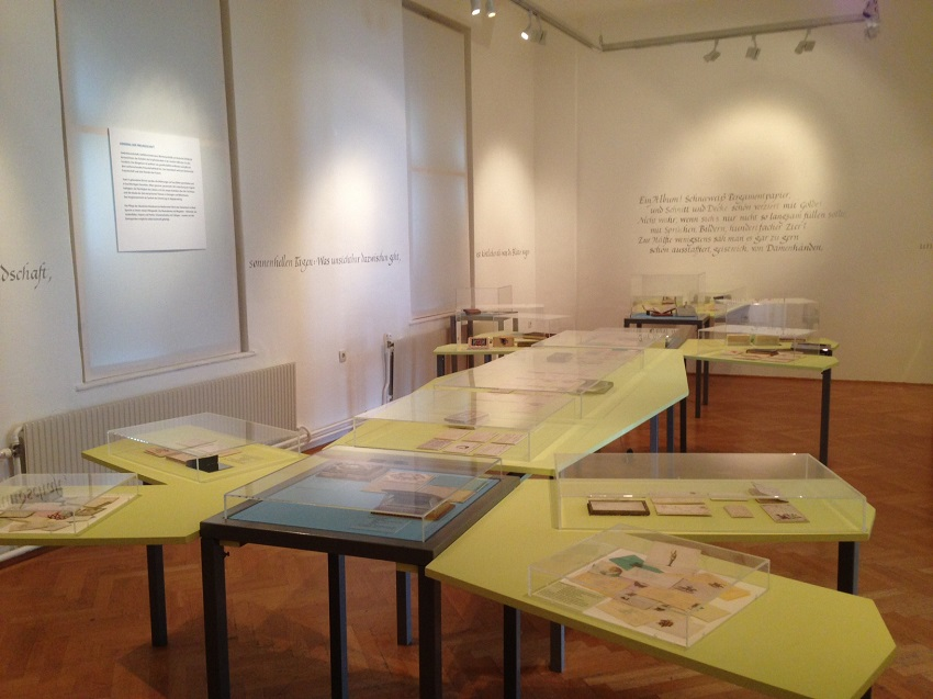 Denk an mich! Ausstellungsarchitektur, Foto (c) Andrea Pickl - kekinwien.at
