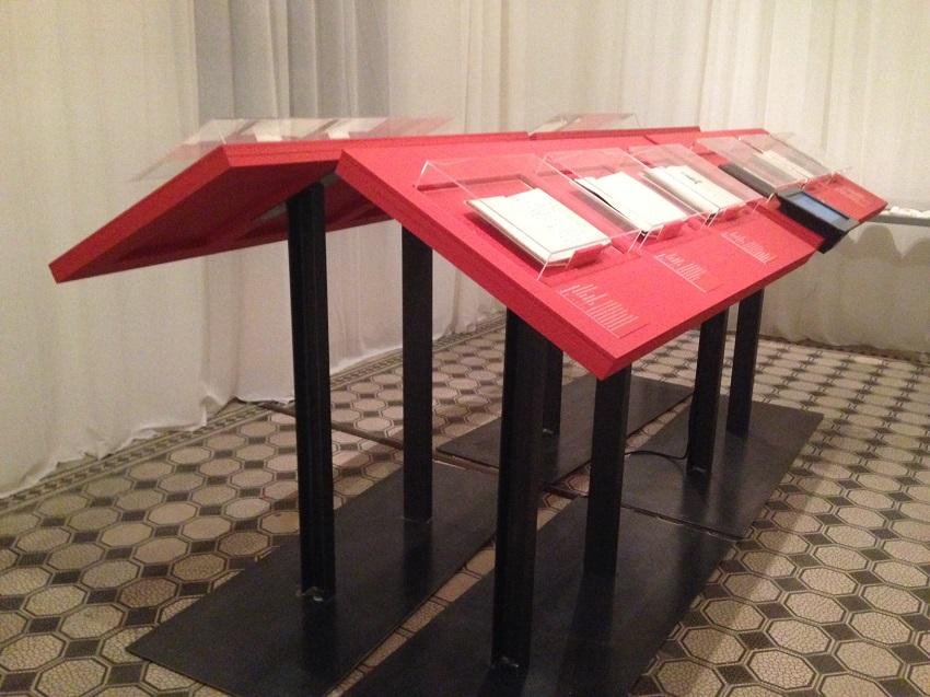 Denk an mich! Ausstellungsarchitektur, Foto (c) Andrea Pickl -kekinwien.at