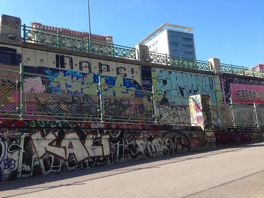 Graffiti Donaukanal foto andrea pickl kekinwien.at