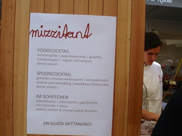 Speisekarte der mizzi beim Street Food Festival, Foto (c) Hadwig Fink - kekinwien.at