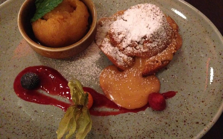 Geschmack siegt über Form. Keinesfalls versäumen bitte, dieses Soufflé! Foto (c) Andrea Pickl - kekinwien.at