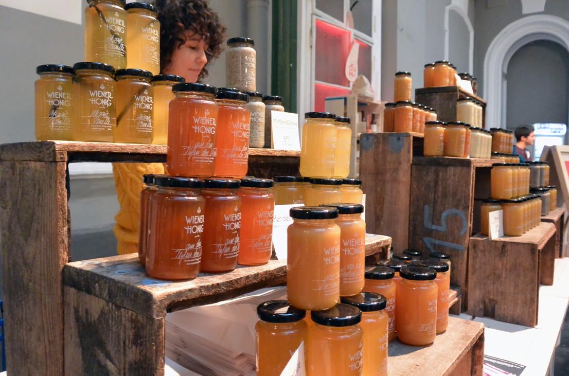 Wiener Honig in der Markterei, Foto (c) Mischa Reska - kekinwien.at