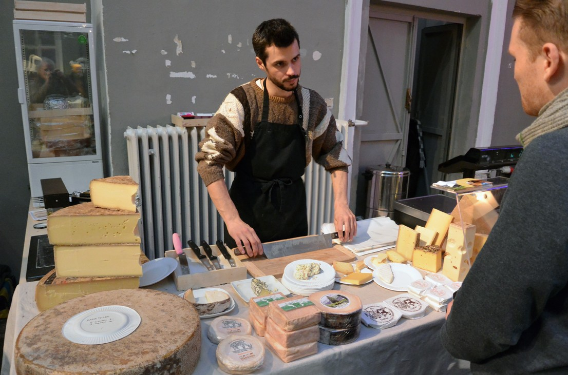 Käse bei der Markterei, Foto (c) Mischa Reska - kekinwien.at