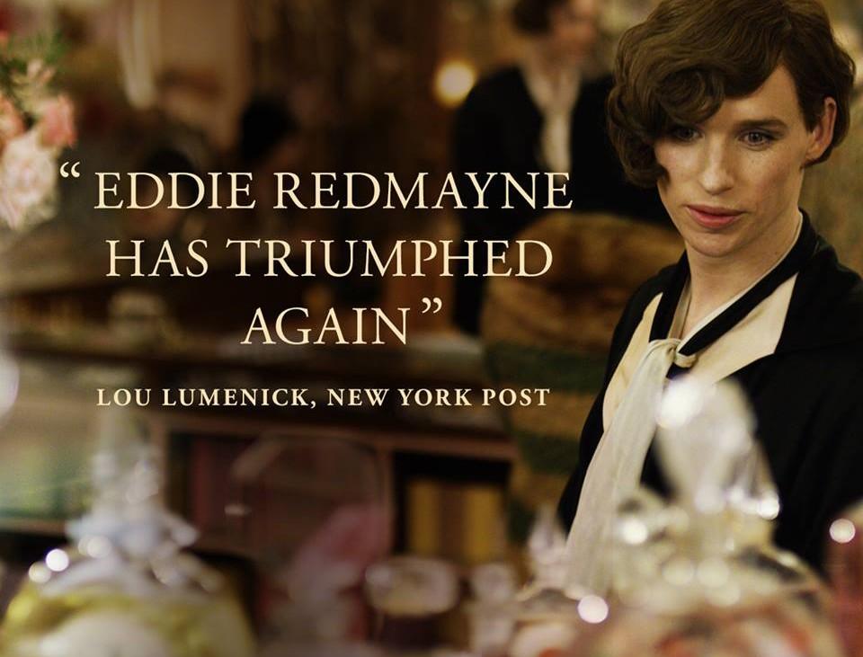 The Danish Girl, Eddie Redmayne, Foto (c) Filmseite auf fb