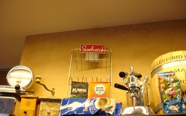 Museumsstücke in der Kaffeebohne,  Foto © Hadwig Fink – kekinwien.at