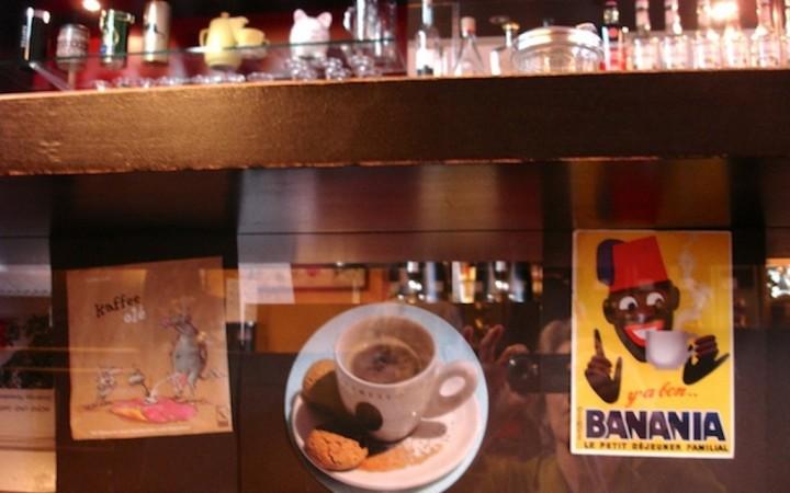 Baransicht von unten in der Kaffeebohne, Dornbirn,  Foto © Hadwig Fink – kekinwien.at