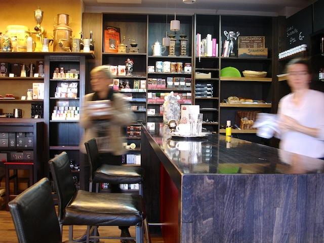 Kaffeebar in der Kaffeebohne, Foto © Hadwig Fink – kekinwien.at