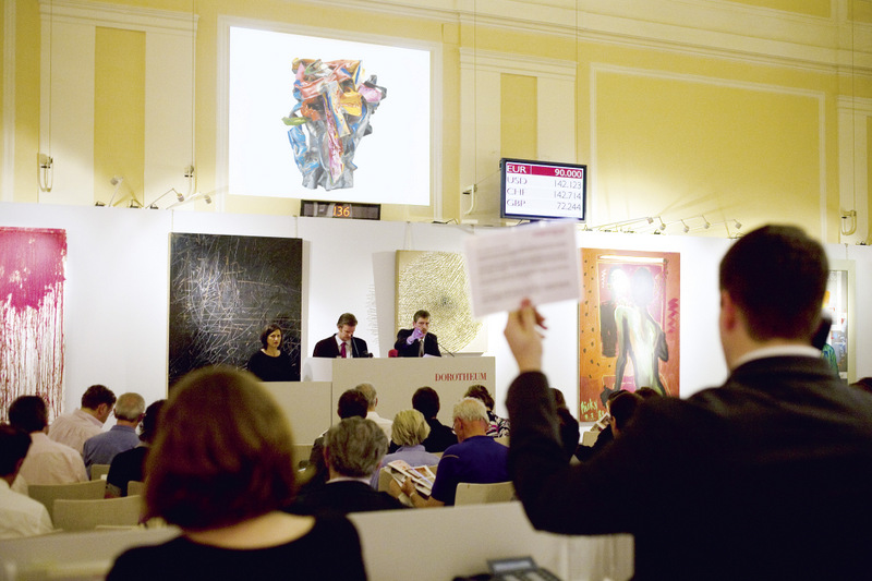 Dorotheum Wien: Auktionsszene Copyright: R. R. Rumpler