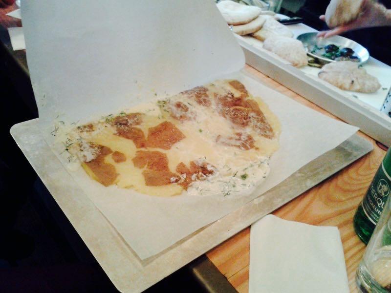 Überfahrene Kartoffel mit Sauerrahm im Miznon, Foto (c) Claudia Busser- kekinwien.at