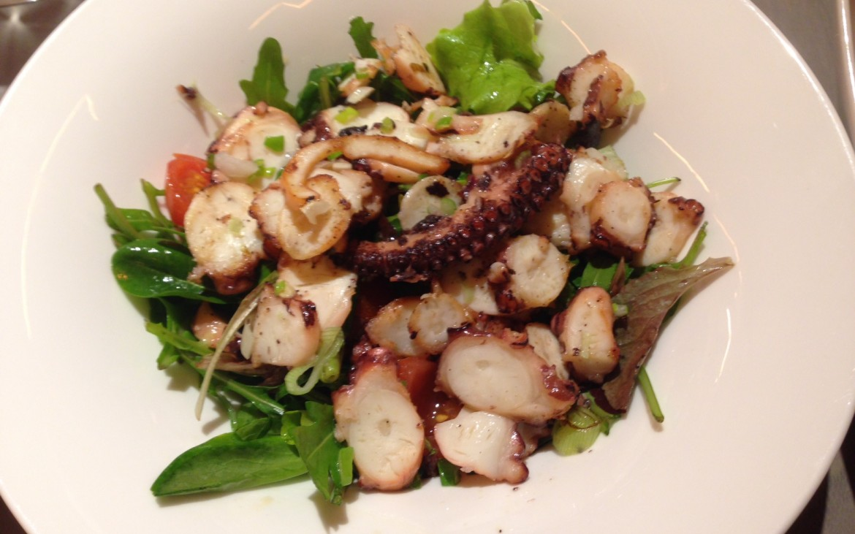 Oktopussalat, Kiang Wine and Dine, Foto (c) Andrea Pickl - kekinwien.at