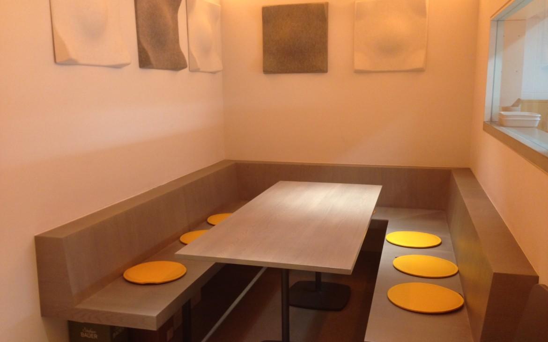 """das """"Hinterzimmer"""" bei der Küche im Kiang Wine and Dine, Foto (c) Andrea Pickl - kekinwien.at"""
