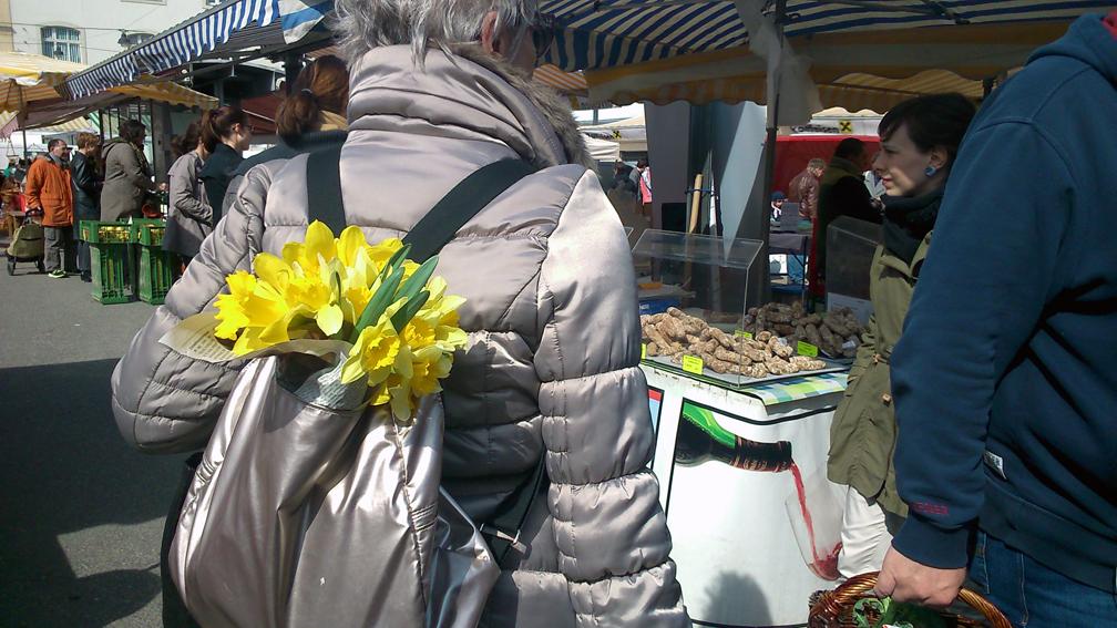 Auf dem Markt im April, Foto (c) Mischa Reska - kekinwien.at