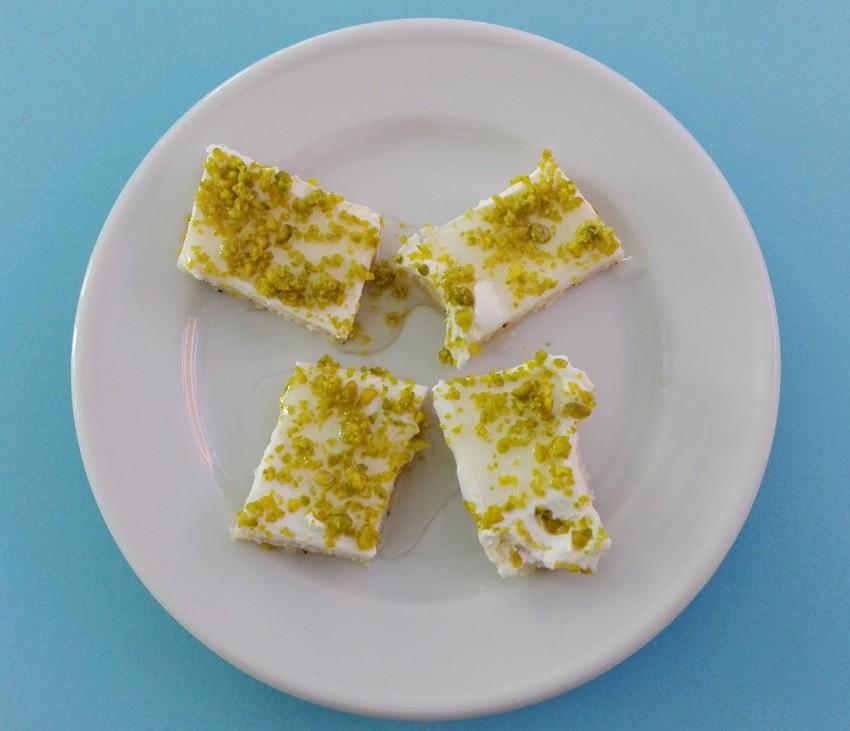 Dessert: Madlouka aus Syrien. Köstlich! (c) Claudia Busser - kekinwien.at