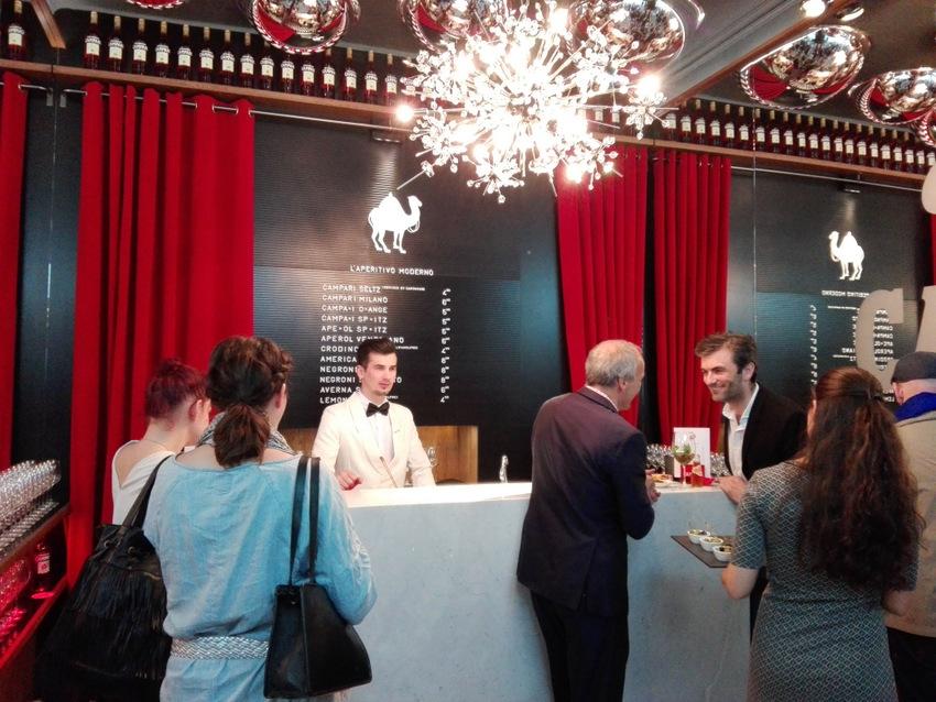Bar Campari im Schwarzen Kameel - kekinwien.at