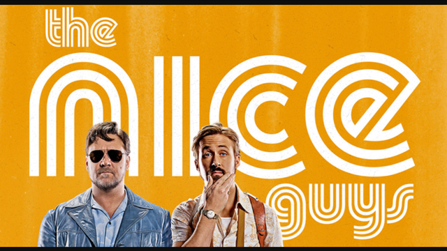 The Nice Guys, Filmplakat