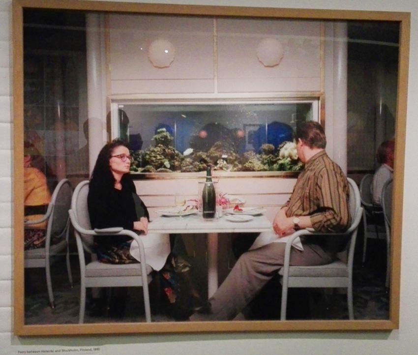 Martin Parr im Kunsthaus, Bored Couples, Foto vom Foto (c) Claudia Busser - kekinwien.at