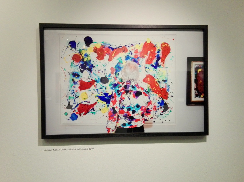 Pollock vor Pollock. Martin Parr Ausstellung im Kunsthaus, Foto (c) Claudia Busser - kekinwien.at