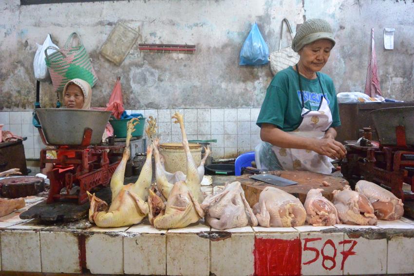 auf dem Markt in Indonesien, Foto (c) Mischa Reska - kekinwien.at
