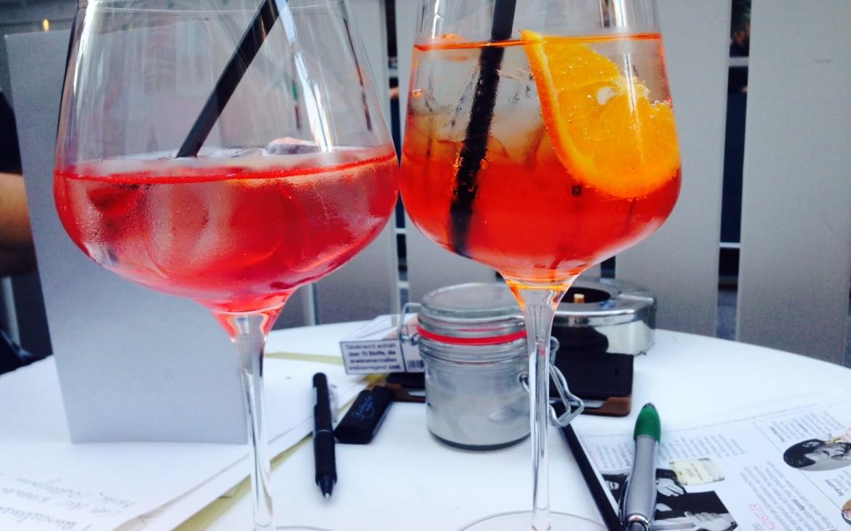 Campari Soda und venezianischer Spritzer Foto Andrea Pickl - kekinwien.at