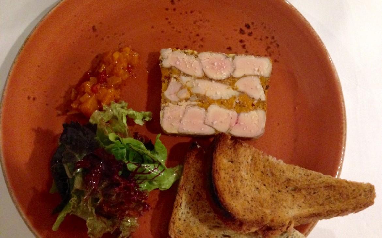 Léontine: Foie gras de canard / argousier / brioche au pavot - kekinwien.at