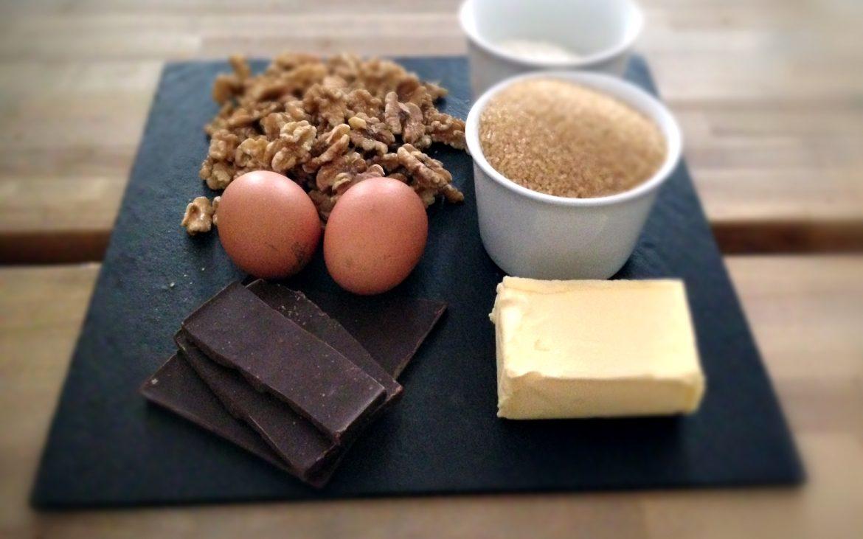 Zutaten für Brownies - kekinwien.at
