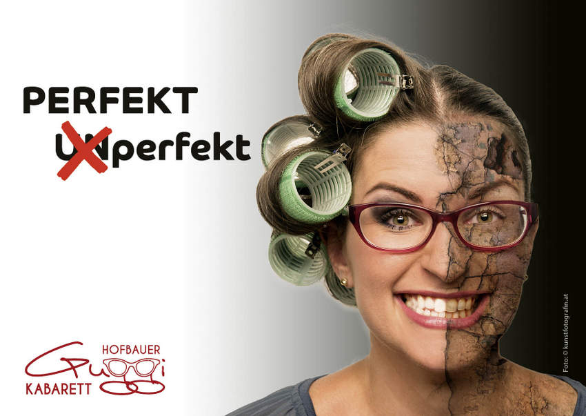 Flyer-Perfekt UNperfekt, Guggi Hofbauer, Foto (c) kunstfotografin.at